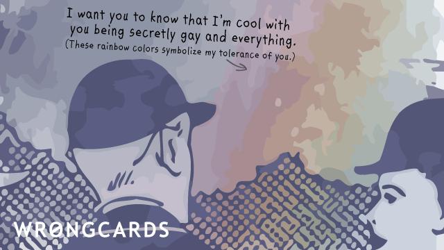 Thinking of you ecard secretly gay wrongcards